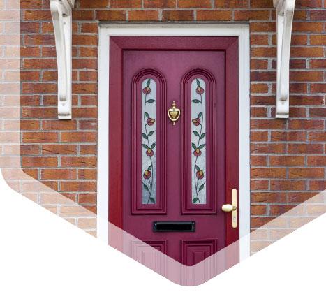 Contact door