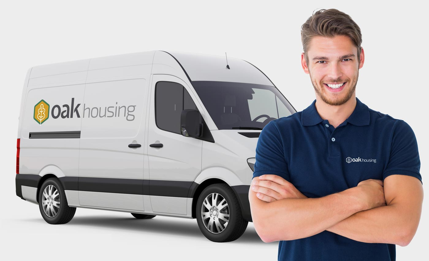 Oak Housing Maintenance Person and Van